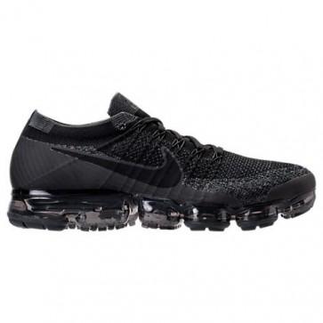 Hommes Nike Air VaporMax Flyknit Chaussures Noir / Anthracite / Gris foncé 849558 007