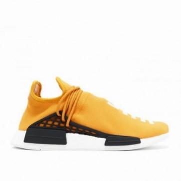 Femmes Adidas NMD Human Race Orange / Core Noir Chaussures de running