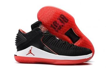 "Air Jordan 32 Low ""Bred"" Homme Noir, Université Rouge Chaussures de running"
