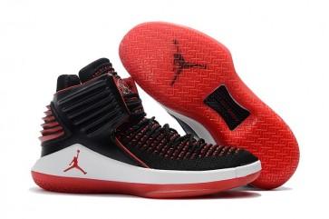 Hommes Chaussures de course Air Jordan 32 (XXXII) Noir / Blanc / Rouge