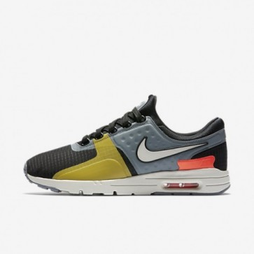 Nike Air Max Zero SI Femme Noir, Gris froid, Total cramoisi, Light Bone Chaussures 881173-001