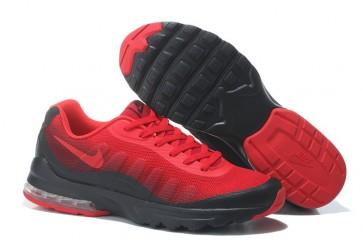 Homme Nike Air Max 95 Chaussures de sport Noir et Rouge