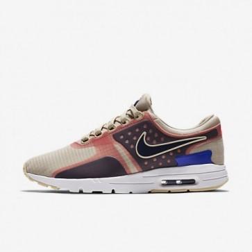 Femmes Chaussures Nike Air Max Zero SI Gruau / Blanc / Paramount Bleu / Bleu binaire 881173-101