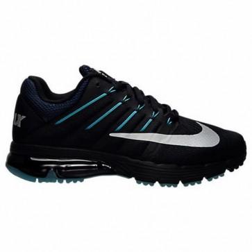 Noir, Blanc, Racer Bleu, Gamma Bleu Homme Nike Air Max Excellerate 4 Chaussures de course 810798 014
