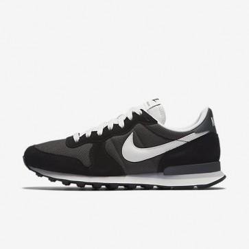 Nike Internationalist Hommes Pewter profond / Noir / Anthracite / Sail Chaussures 828041-201