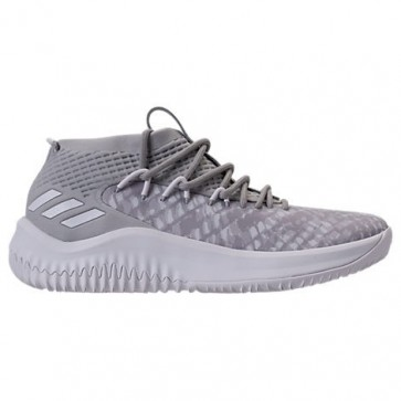 Homme Adidas Dame 4 Chaussure de basketball Onyx / Blanc / Pourpre BY4495