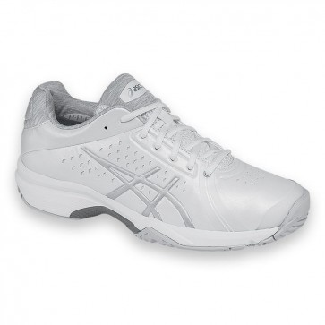 Femmes Asics Gel Court Bella Chaussures de tennis Blanc, Argent