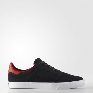 Homme Adidas Originals Seeley Chaussures - Core Noir / Core Noir / Cramoisi BY4020