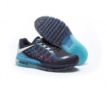 Chaussures de sport Nike Air Max 2017 (Femmes, Hommes) Violet foncé, Bleu, Noir