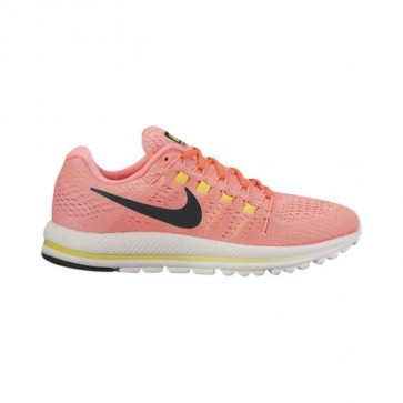 Femmes Nike Air Zoom Vomero Chaussures 12 Punch chaud / Noir / Lava Glow / Electrolime 863766-600