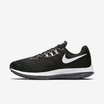 Chaussures de sport Nike Zoom Winflo 4 Femme Noir / Gris foncé / Blanc 898485-001