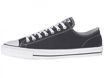 Converse Skate CTAS Pro OX Femme / Homme Gris et Blanc Chaussures