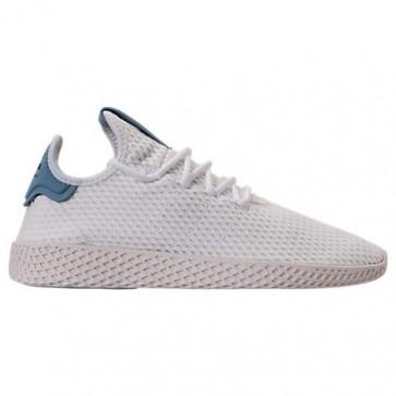 Chaussures de course Adidas Originals Pharrell Williams Tennis HU Hommes BY8718 Blanc / Bleu