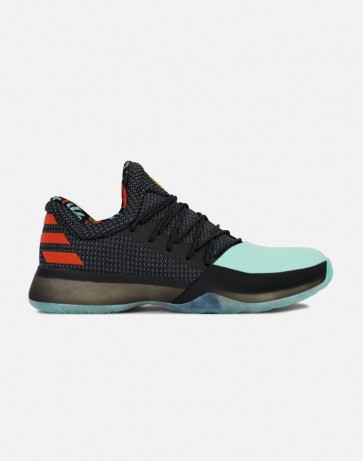 Adidas Harden Vol. 1 Core Noir / Easy Vert / Energy Hommes Chaussures #Bw1573
