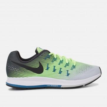 Chaussures de course Nike Air Zoom Pegasus 33 Homme Vert / Noir / Gris / Teal