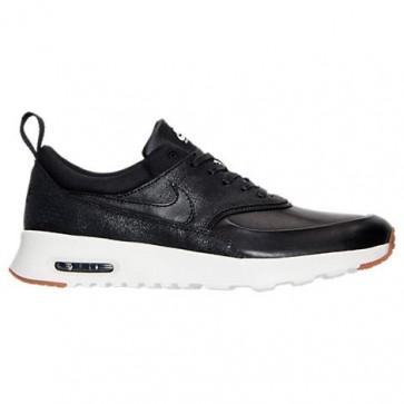 Femme Chaussures Nike Air Max Thea Premium 616723 012 Noir / Sail / Gomme Brun moyen