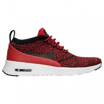 (Université Rouge / Noir / Blanc) Nike Air Max Thea Ultra Flyknit Femmes Chaussures 881175 601