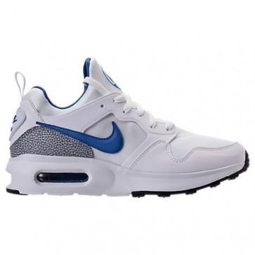 Nike Air Max Prime Hommes Chaussures Blanc, International Bleu, Wolf Gris 876068 101