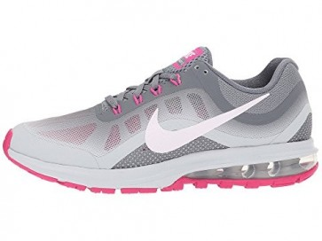 Homme, Femme Nike Air Max Dynasty 2 Chaussures de course Gris froid, Rose, Platine pure
