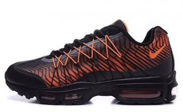 Femmes Chaussures Nike Air Max 95 Rouge, Noir