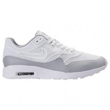 Femmes Nike Air Max 1 Ultra 2.0 SI Blanc / Refléter l'argent Chaussures 881103 100