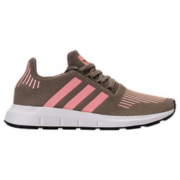 Femmes Adidas Swift Run Chaussures de course Trace Cargo, Trace Rose, Blanc CG4142