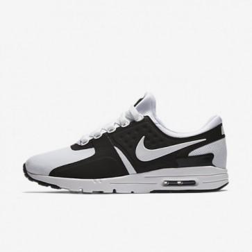 Femme Nike Air Max Zero Chaussures de sport 857661-006 Noir, Blanc