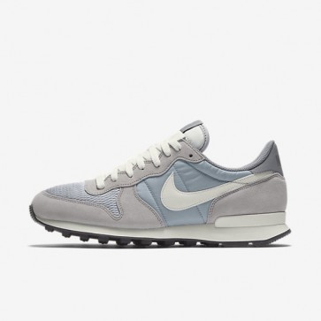 Hommes Nike Internationalist 828041-015 Chaussures de course - Wolf Gris / Sail / Sail