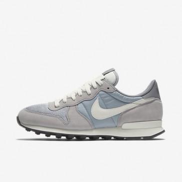 Hommes Nike Internationalist 828041-015 Chaussures de course - Wolf Gris / Sail / Sail