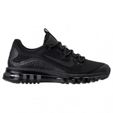 Chaussures de course Nike Air Max More Hommes Triple Noir 898013 002