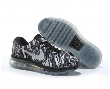 Chaussures de course Nike Air Max 2017 (Femmes, Hommes) Blanc, Noir