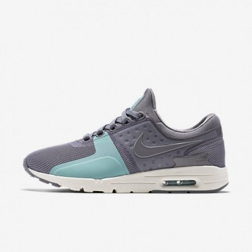 Nike Air Max Zero Femmes Gris froid / Sail / Washed Teal Chaussures 857661-001