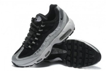 Nike Air Max 95 Noir, Argent Homme Chaussures