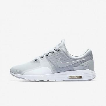 Nike Air Max Zero Wolf Gris / Blanc / Wolf Gris Femmes Chaussures 857661-009
