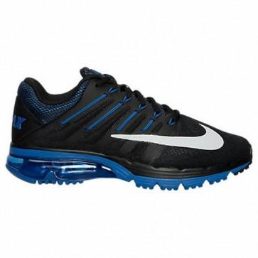 Nike Air Max Excellerate 4 Homme Chaussures Noir, Blanc, Jeu Royal, Bleu Royal Profond 806770 044