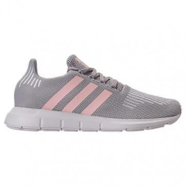 Femmes Adidas Swift Run Chaussures de course Gris / Ice Rose / Blanc CG4140