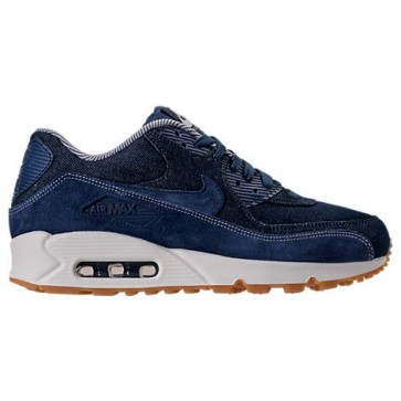 Nike Air Max 90 SE Femme Bleu binaire, Mousseline, Sail Chaussures de course 881105 401