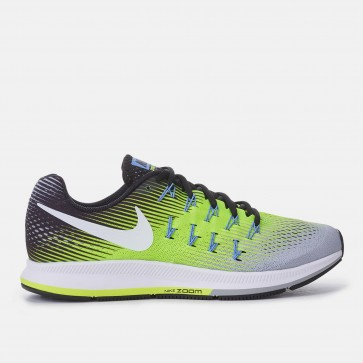 Chaussures de sport Nike Air Zoom Pegasus 33 Hommes Vert, Noir, Gris