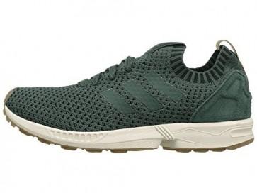 Adidas Originals ZX Flux Primeknit Hommes Chaussures Utilitaire Ivy / Utilitaire Ivy / Gomme