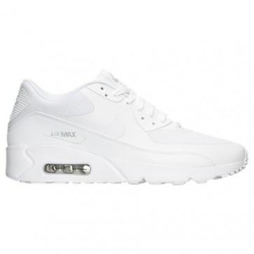 Nike Air Max 90 Ultra 2.0 Hommes Chaussures Blanc / Blanc / Platine pure 875695 101