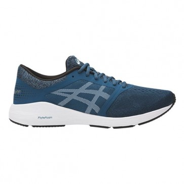 Chaussures de course Asics Hommes Roadhawk FF Ink Bleu, Blanc, Noir