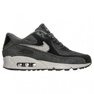 Femmes Nike Air Max 90 SE Chaussures de course Noir, Gris foncé, Cobblestone 881105 002