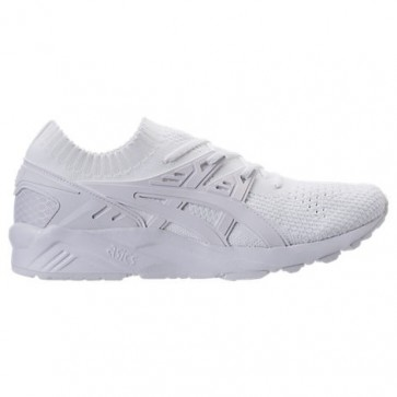 Homme Asics Gel-Kayano Trainer Knit Low Chaussures de course H705N 010 Blanc