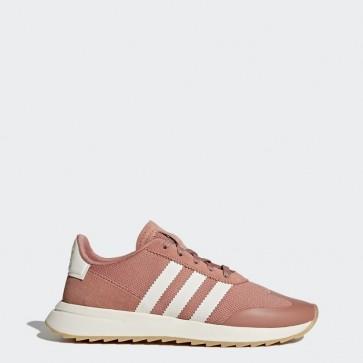 Rose brut / Blanc Femmes Adidas Originals Flashback Chaussures BY9301