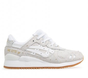 Asics Femmes Gel-Lyte III Blanc Chaussure