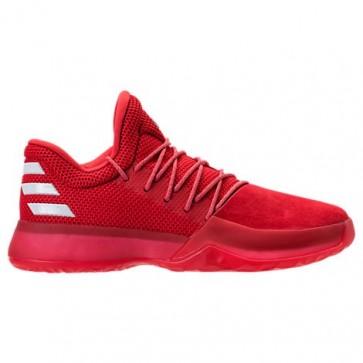 Hommes Rouge / Blanc Adidas Harden Vol.1 Chaussure de basketball CQ1404