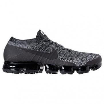 Homme Nike Air VaporMax Flyknit Chaussures de course 849558 041 Noir / Blanc / Racer Bleu