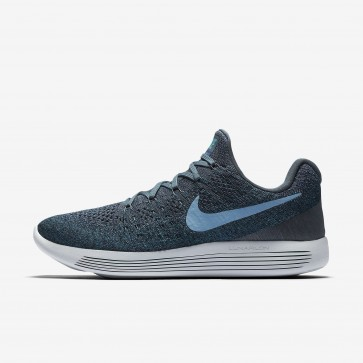 Chaussures Nike LunarEpic Low Flyknit 2 Hommes Renard bleu, Marine Collège, Bleu Royal Profond, Azuré 863779-404