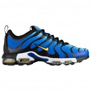 Hommes Chaussures Nike Air Max Plus TN Ultra Hyper Bleu / Chamois / Noir / Bleu ciel 98015402