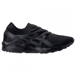 Noir Hommes Asics Gel-Kayano Trainer Knit Low Chaussure H705N 909